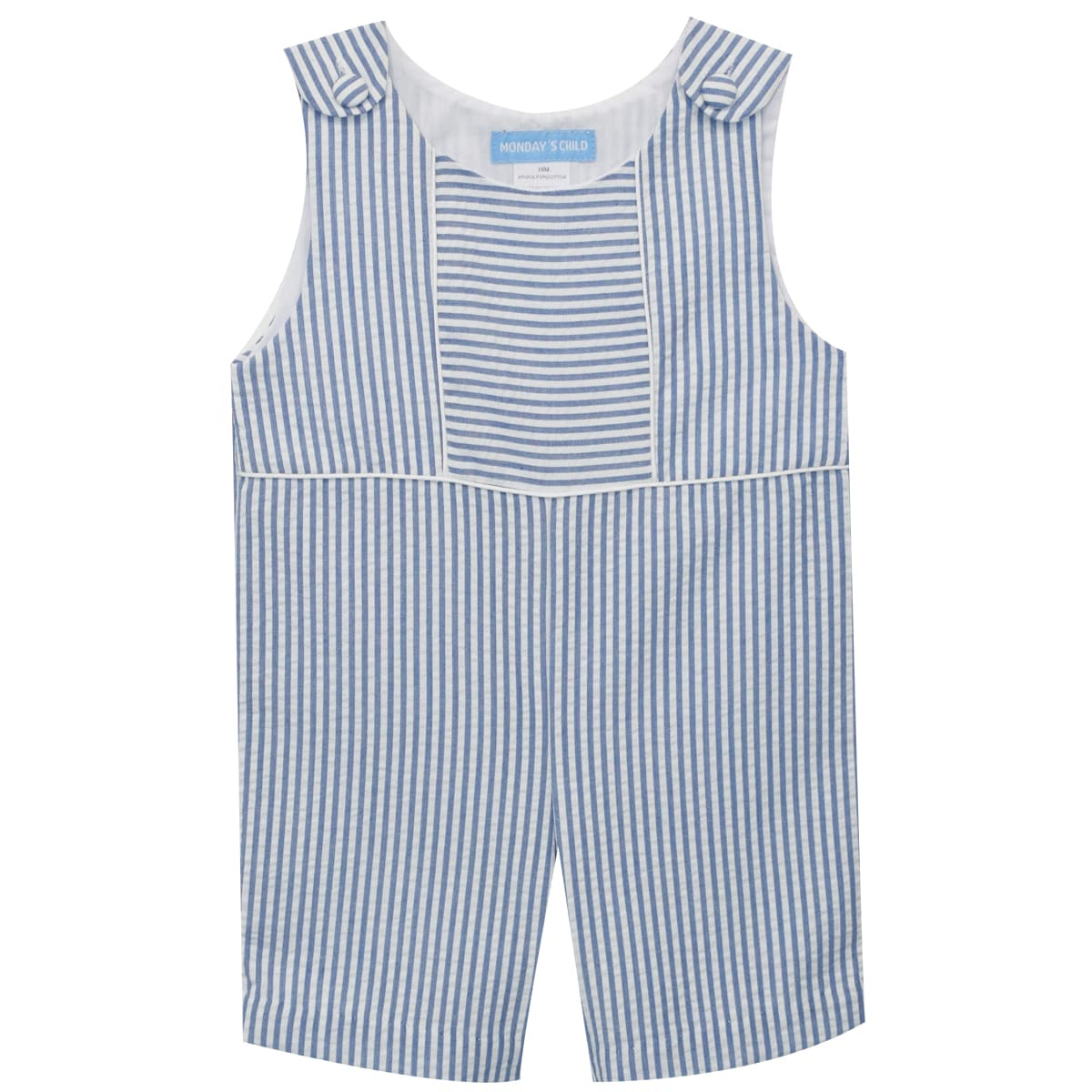 Royal Stripe Boys Shortall - Vive La Fête - Online Apparel Store