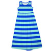 Royal Mint Stripes Maxi Dress - Vive La Fête - Online Apparel Store