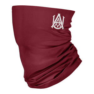 Alabama A&M Bulldogs AAMU Neck Gaiter Solid Maroon - Vive La Fête - Online Children's Apparel