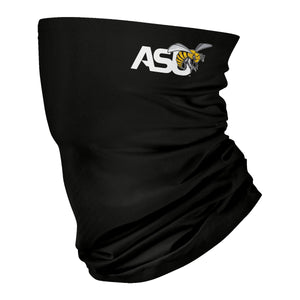 Alabama State Hornets Neck Gaiter Solid Black ASU - Vive La Fête - Online Children's Apparel