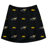 Alabama State Hornets Skirt Black All Over Logo - Vive La Fête - Online Children's Apparel