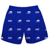 Alabama At Huntsville Chargers Short Blue All Over Logo - Vive La Fête - Online Apparel Store