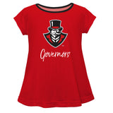 Austin Peay State University Governors Red Short Sleeve Laurie Top - Vive La Fête - Online Apparel Store