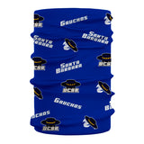 UC Santa Barbara Gauchos UCSB Vive La Fete All Over Logo Game Day Collegiate Face Cover Soft 4-Way Stretch Neck Gaiter - Vive La Fête - Online Apparel Store