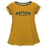 Lrg Baylor Solid Gold Laurie Top Short Sleeve - Vive La Fête - Online Apparel Store