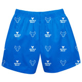 University at Buffalo Bulls Short Blue All Over Logo - Vive La Fête - Online Children's Apparel