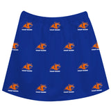 United States Coast Guard Academy Repeat Logo Blue Skirt - Vive La Fête - Online Apparel Store