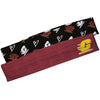 Central Michigan Chippewas Black and Maroon Headband Set - Vive La Fête - Online Children's Apparel