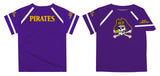 East Carolina Solid Purple Boys Tee Shirt Short Sleeve - Vive La Fête - Online Apparel Store