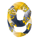 East Tennessee State Buccanneers Blue And Gold Degrade Infinity Scarf - Vive La Fête - Online Children's Apparel