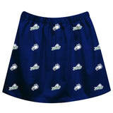 Florida Gulf Coast Eagles Skirt Blue All Over Logo - Vive La Fête - Online Children's Apparel