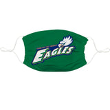 FGCU Eagles Vive La Fete Single Logo Game Day Collegiate Green Face Cover Mask Reusable Wasgable - Vive La Fête - Online Children's Apparel