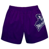 Furman Solid Purple Pull On Short