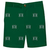 Hawaii Rainbow Warriors Green  Structured Short All Over Logo - Vive La Fête - Online Children's Apparel