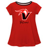 UH Hilo Vulcans Red Short Sleeve Laurie Top - Vive La Fête - Online Children's Apparel
