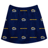 Kent State Golden Flashes Skirt Blue All Over Logo - Vive La Fête - Online Children's Apparel