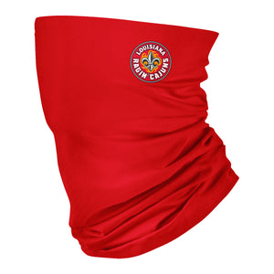 Louisiana At Lafayette Solid Red Neck Gaiter