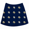 Marquette Golden Eagles Skirt Navy All Over Logo - Vive La Fête - Online Children's Apparel