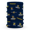UNCG Spartans Vive La Fete All Over Logo Game Day  Collegiate Face Cover Soft 4-Way Stretch Neck Gaiter - Vive La Fête - Online Apparel Store