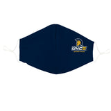UNCG Spartans Vive La Fete Logo Game Day Collegiate Face Cover Mask Ergonomic Reusable Washable - Vive La Fête - Online Apparel Store