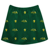 North Dakota State Bison NDSU Skirt Green All Over Logo - Vive La Fête - Online Children's Apparel