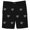 Oakland Golden Grizzlies Vive La Fete Boys Game Day All Over Logo Black Structured Shorts with Side Pockets - Vive La Fête - Online Apparel Store