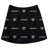 Oakland University Golden Grizzlies Skirt Black All Over Logo - Vive La Fête - Online Apparel Store
