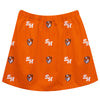 Sam Houston Bearcats Skirt Orange All Over Logo - Vive La Fête - Online Apparel Store