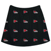 Southeast Missouri Redhawks Skirt Black All Over Logo - Vive La Fête - Online Apparel Store