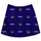 San Francisco State Gators SFSU Skirt Purple All Over Logo - Vive La Fête - Online Children's Apparel