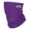TCU Horned Frogs Neck Gaiter Solid Purple
