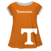 Tennessee Big Logo Orange Short Sleeve Girls Laurie Top