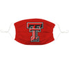 Texas Tech Red Raiders Vive La Fete Single Logo Game Day Collegiate Red Face Cover Mask Reusable Wasgable - Vive La Fête - Online Children's Apparel