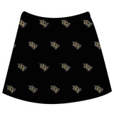 Central Florida Print Black Skirt