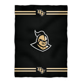 Central Florida Stripes Black Fleece Blanket - Vive La Fête - Online Apparel Store