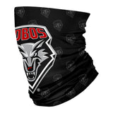 New Mexico Lobos Vive La Fete All Over Logo Game Day  Collegiate Face Cover Soft 4 Way Stretch Neck Gaiter - Vive La Fête - Online Children's Apparel