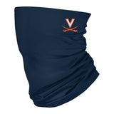 Virginia Cavaliers Neck Gaiter Solid Navy