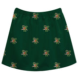 Vermont Catamounts Skirt Green All Over Logo - Vive La Fête - Online Children's Apparel