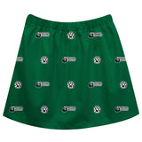 Northwest Missouri State University Bearcats Skirt Green All Over Logo - Vive La Fête - Online Children's Apparel