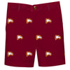 Winthrop University Eagles Maroon Structured Short All Over Logo - Vive La Fête - Online Children's Apparel