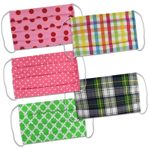 Plaids-N-Dots Mask Bundle - Vive La Fête - Online Children's Apparel