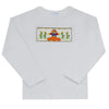 Harvest Hand Smocked Boys Long Sleeve Tee Shirt - Vive La Fête - Online Children's Apparel