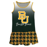 Baylor Degrade Green Sleeveless Lily Dress