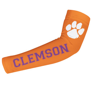Clemson Tigers Orange Arm Sleeves Pair