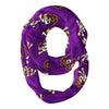 East Carolina Pirates All Over Logo Purple Infinity Scarf - Vive La Fête - Online Children's Apparel