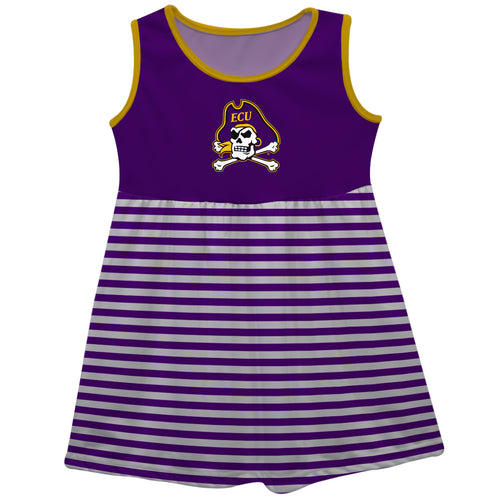 East Carolina Sleeveless Tank Dress