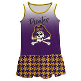 East Carolina Degrade Purple Sleeveless Lily Dress - Vive La Fête - Online Apparel Store