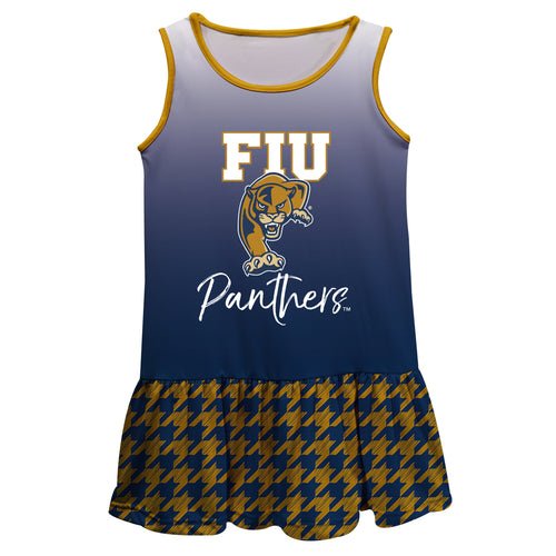 FIU Degrade Blue Sleeveless Lily Dress