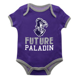 Furman Solid Purple Boys Onesie Short Sleeve - Vive La Fête - Online Apparel Store