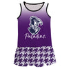 Furman Degrade Purple Sleeveless Lily Dress - Vive La Fête - Online Apparel Store